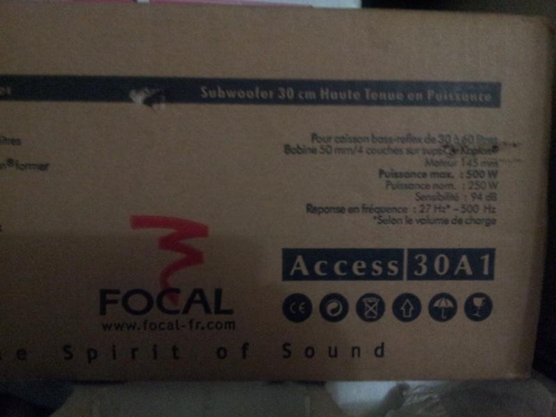 """Focal 12"""" Subwoofer (Sold) 20151116"""
