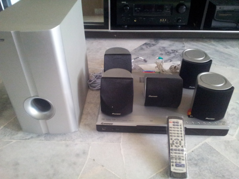 Pioneer home theater (Sold) 20160110