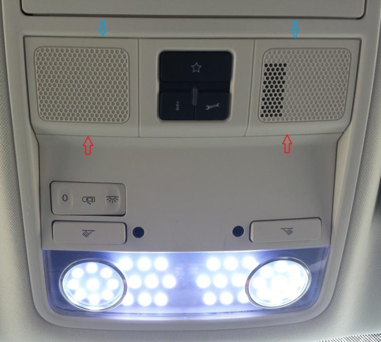 Cambio de iluminacion interior a Led Luces_14