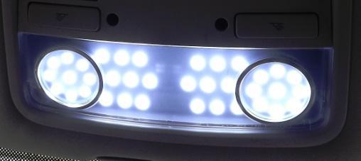 Cambio de iluminacion interior a Led Luces_30