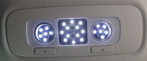 Cambio de iluminacion interior a Led Luces_31
