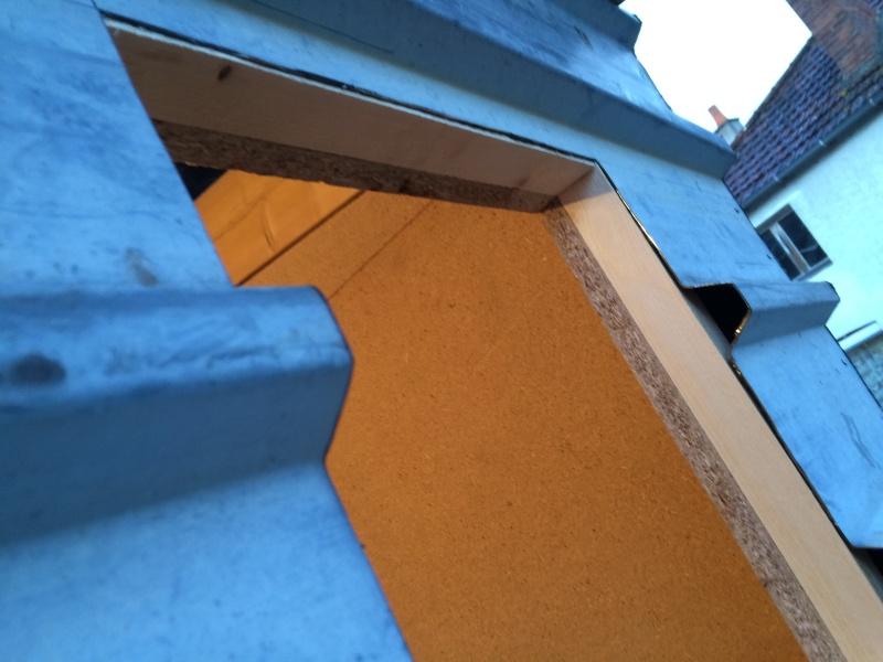 Construction pigeonnier avec récupération  Image29