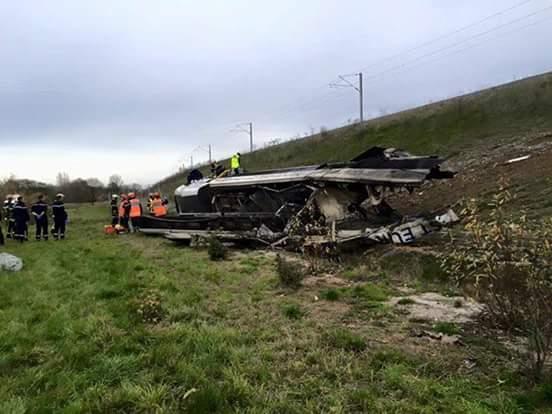 Accident TGV d'essai en Alsace samedi 14/11/15 _faceb14