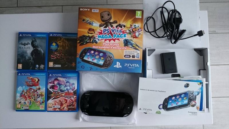 Vends PS VITA mega pack + jeux  12630610