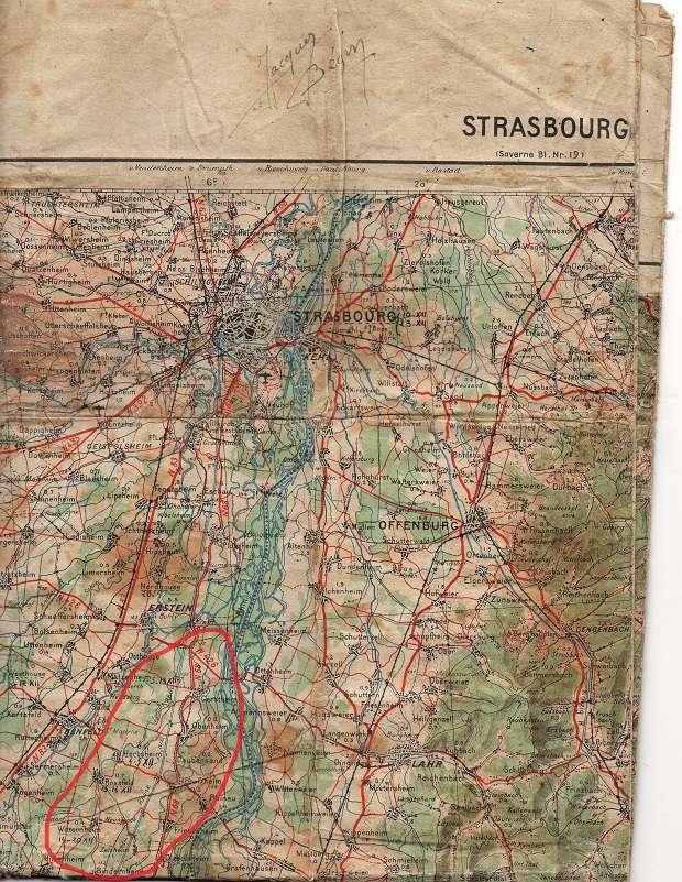 Carnet de route de Jacques Bégin III/ RMT 10ème Cie - Page 2 Carte_10