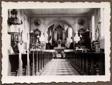 Carnet de route de Jacques Bégin III/ RMT 10ème Cie - Page 2 Eglise11