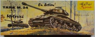 Tank M24 , les débuts de Heller dans les maquettes militaires  M24_1-10