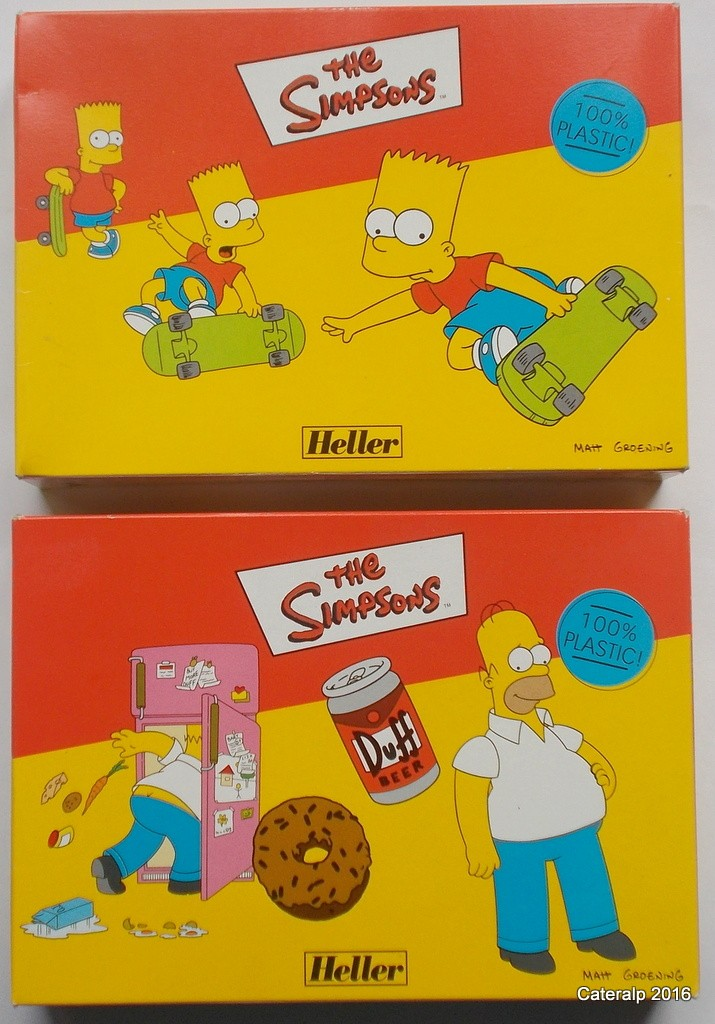 Homer et Bart Simpson Simpso10