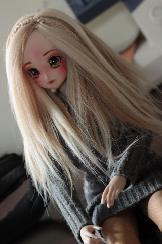 [ So doll ] - Wig méchée verte ! - Img_0815
