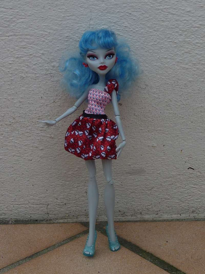 Mes Monster High (nouvelles photos) P1050830