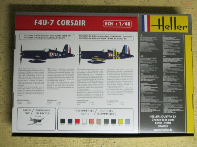 Change Vought F4U-7 CORSAIR 1/48 Img_3030
