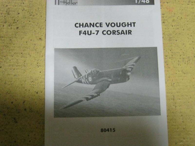 Change Vought F4U-7 CORSAIR 1/48 Img_3035