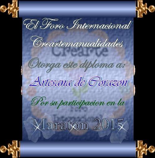 Cierre de la Maraton 2015 Artesa10