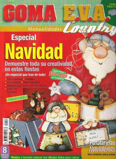Bienvenidas. Goma eva country. Especial Navidad Bienve11