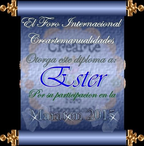 Cierre de la Maraton 2015 Ester10