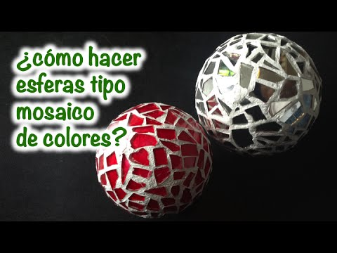 esferas tipo mosaico de colores Hqdefa10