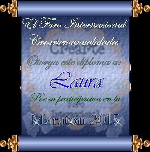 Cierre de la Maraton 2015 Laura11