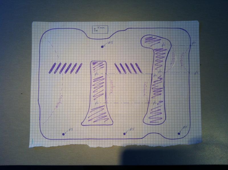 Boite à vitesses Plaque anti-barbottage Baffle tray Image85