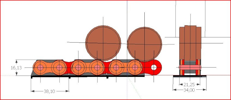 Etude sur la réalisation d'un char FT17 1/6 Chenil10
