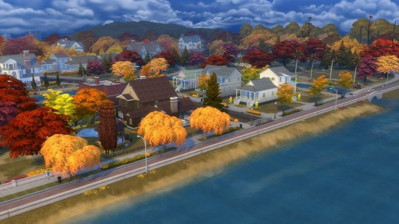 Autumn in The Sims 4 MOD by Dani Paradise 11-17-10