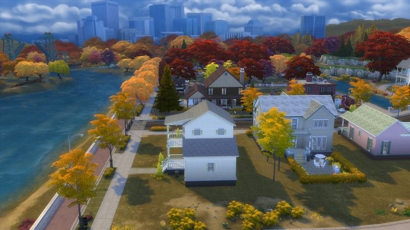Autumn in The Sims 4 MOD by Dani Paradise 11-17-11