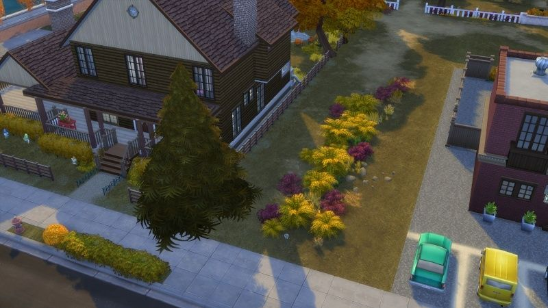 Autumn in The Sims 4 MOD by Dani Paradise 11-17-12