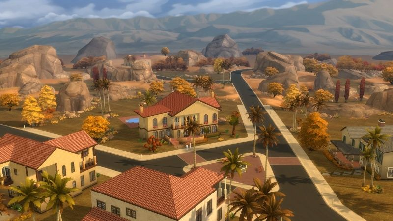 Autumn in The Sims 4 MOD by Dani Paradise 11-17-13