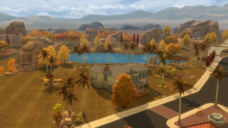 Autumn in The Sims 4 MOD by Dani Paradise 11-17-14