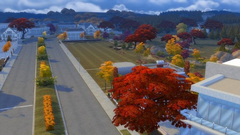 Autumn in The Sims 4 MOD by Dani Paradise 11-17-15
