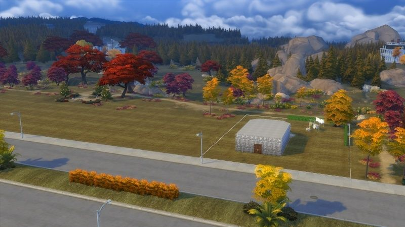 Autumn in The Sims 4 MOD by Dani Paradise 11-17-16