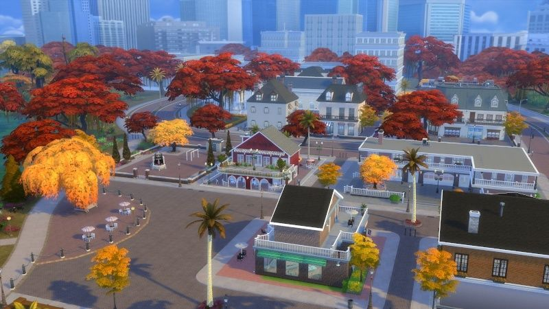 Autumn in The Sims 4 MOD by Dani Paradise 11-17-17