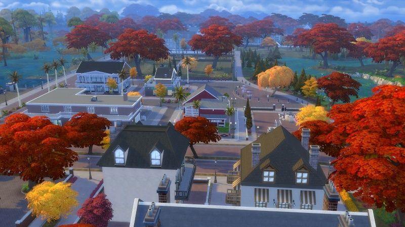 Autumn in The Sims 4 MOD by Dani Paradise 11-17-18