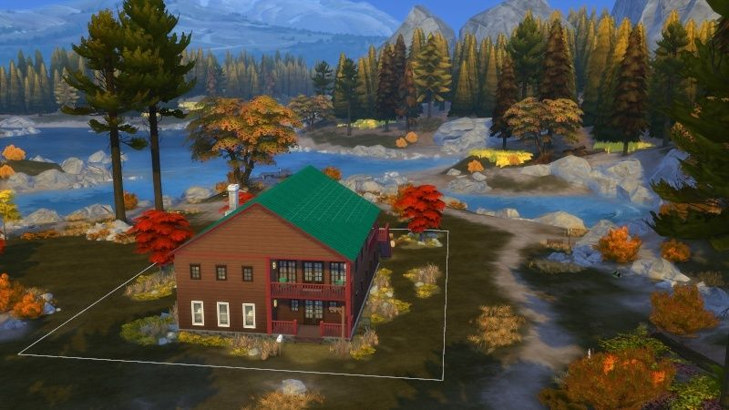Autumn in The Sims 4 MOD by Dani Paradise 11-17-19