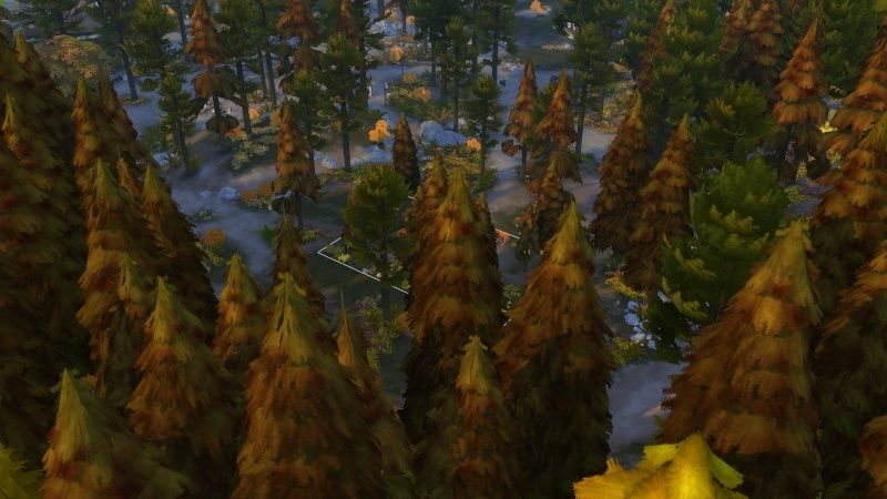 Autumn in The Sims 4 MOD by Dani Paradise 11-17-20