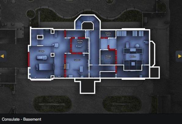 [R6:Siege MAP] Consulate Consul11