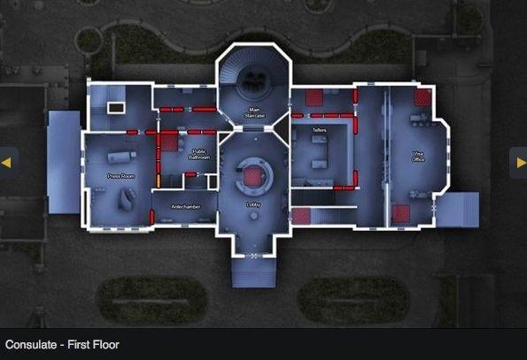 [R6:Siege MAP] Consulate Consul12