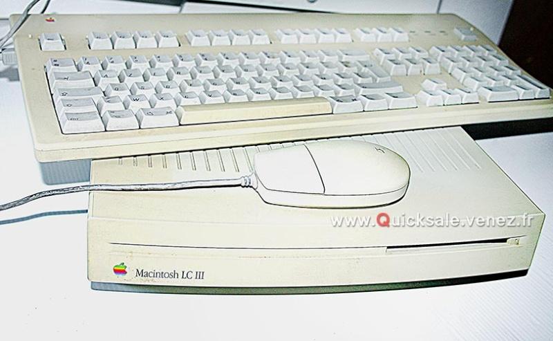 [VENDU] Apple Macintosh LC III (Vintage) de 1993 -28€ Macint10