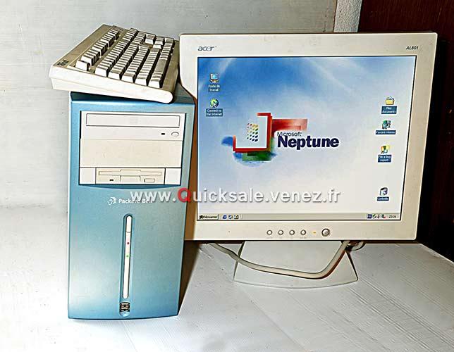 [VENDU] Tour ordinateur Packard Bell Windows NEPTUNE 65€ Window10