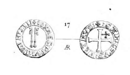 Billon  JEAN XXIII  Antipape de 1410 à 1415 Clipbo12