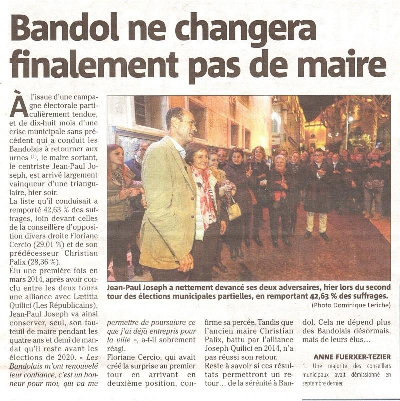 BANDOL réélection de Jean Paul JOSEPH Bandol10