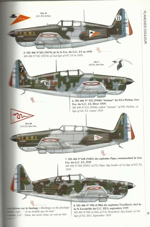 Morane Saulnier MS 406 - 1/48eme AZ Models  00216