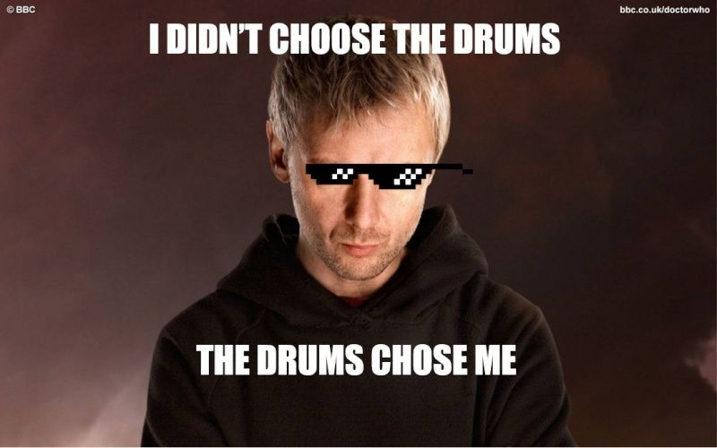 I Didn't Choose the Drums. Drums13