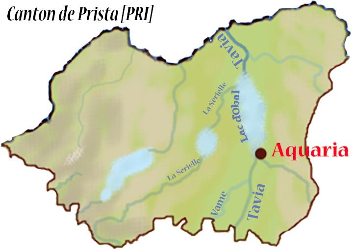 Géographie de Pirée. Canton10