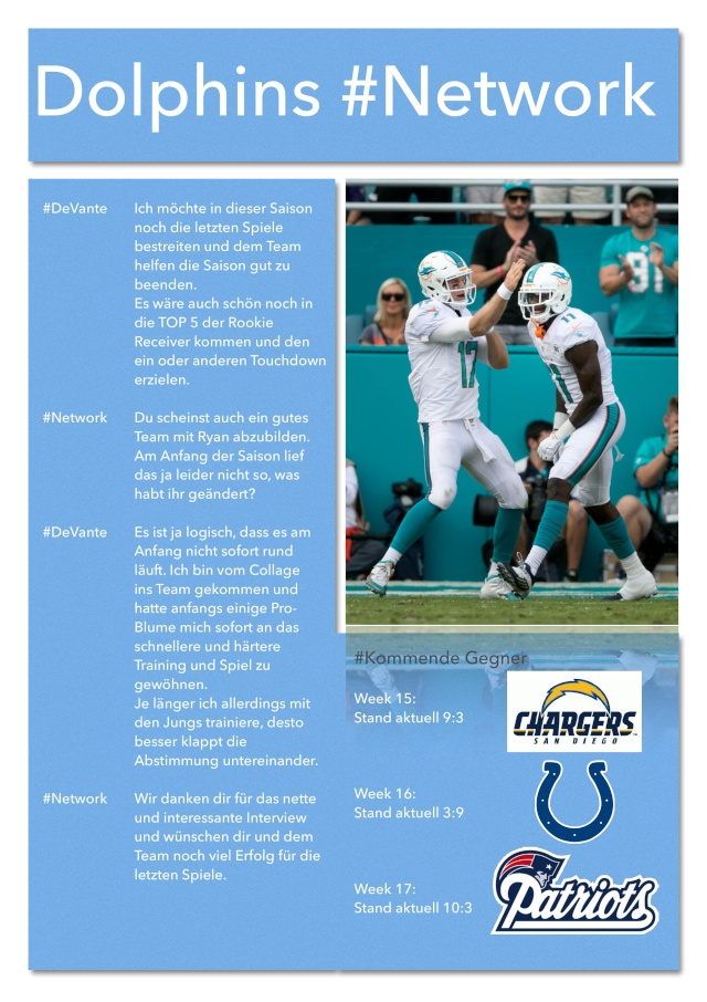 Miami Dolphins #Network Networ12