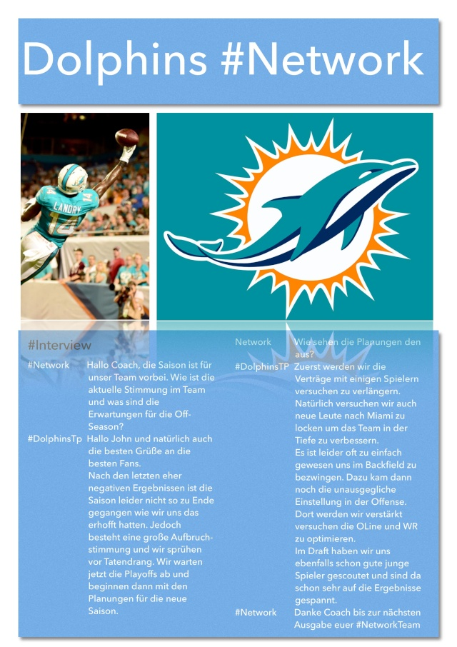 Miami Dolphins #Network Networ13