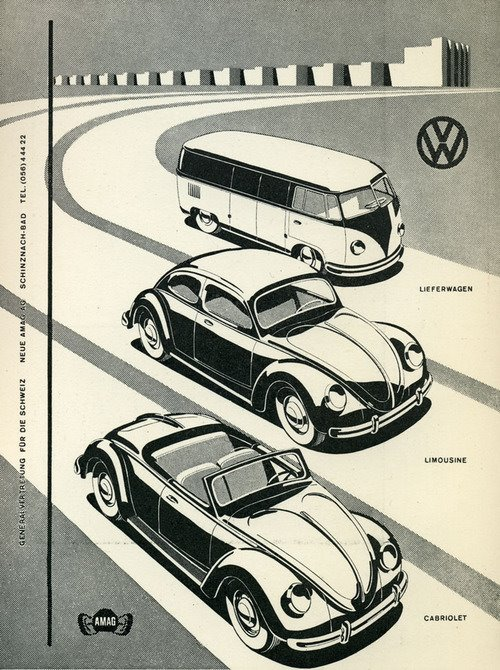 vag vw etc advertisment from the past Bug5710