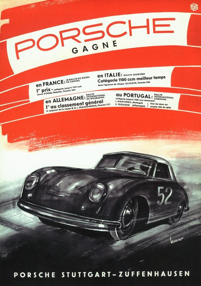 vag vw etc advertisment from the past Porsch10