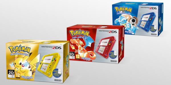 Nouveaux Pack New 3DS / 2DS - 20ème Anniversaire Pokémon  60010