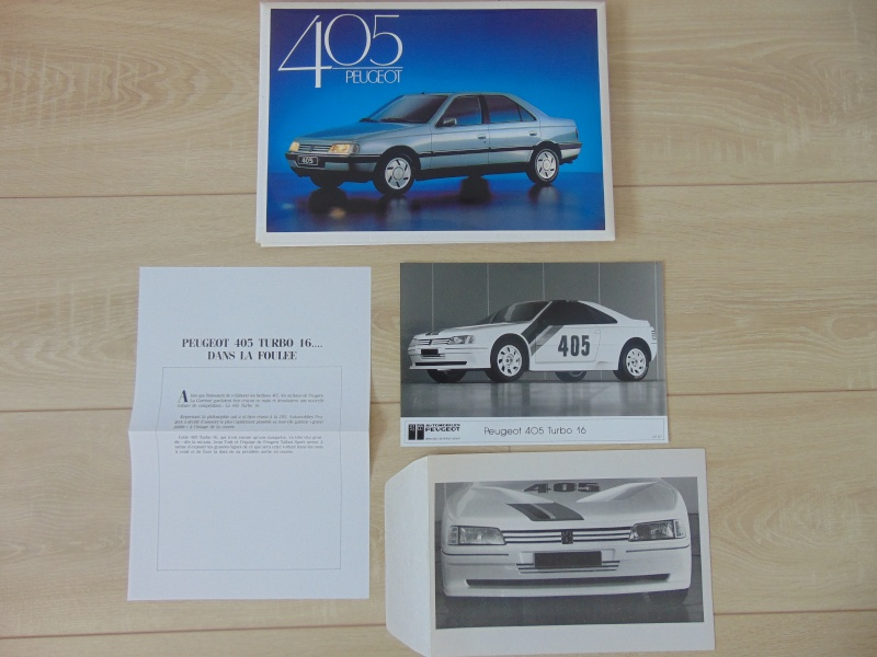 Objets publicitaires et promotionnels PEUGEOT 405 Dsc00819