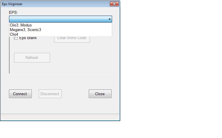 un nouveau logiciel qui remplace le DDT2000, qui s'appelle Renolink Dae10